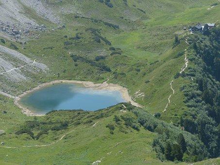 Pool, Lake, Little Lake, Bergsee, Alpine Lake, Water