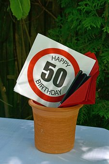 Fiftieth Birthday, 50th Birthday, 50, Birthday