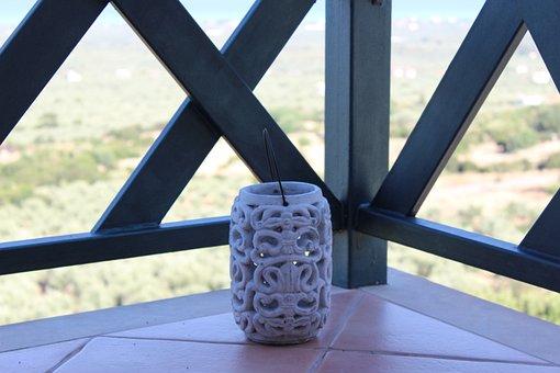 Ambience, Lifestyle, Balcony, Windlight, Candle