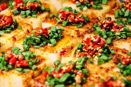 China, Gourmet, Tofu, Spicy, Red Pepper, Sichuan