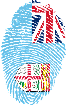 Fiji, Flag, Fingerprint, Country, Pride, Identity
