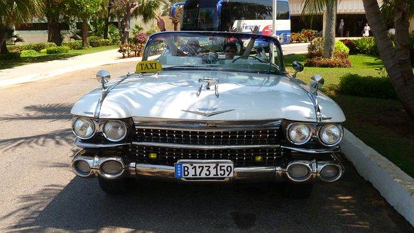 Auto, Cadillac Eldorado, Cuba, Oldtimer, American Car