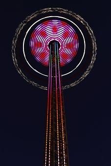 Chain Aviator, Tower, High, 80m, Fair