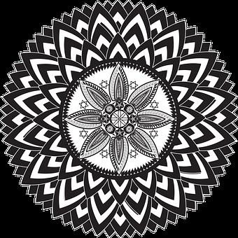 Mandalas, Flowers Mandalas, Flowers, Symbol, Design