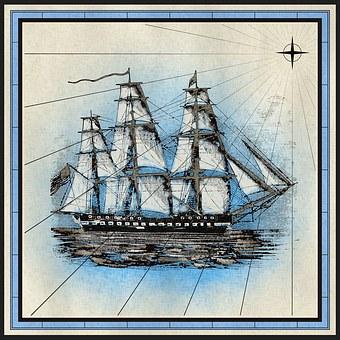 Ship, Frigate, Sailing, Nautical, Sails, Boat, Flagship