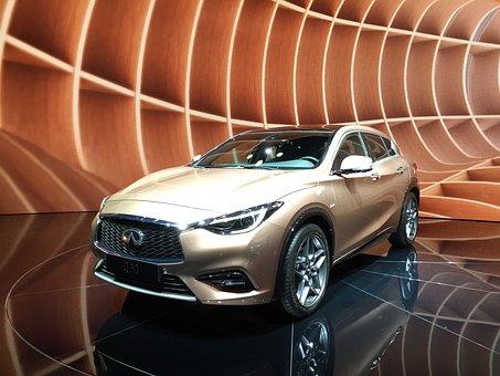 Infinity, Q30, Gold, Mercedes, A Class, Premium, Nissan