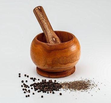Mortar And Pestle, Grinding, Crushing, Mixing, Mortar