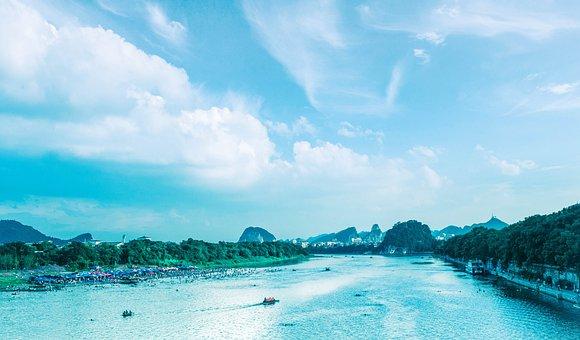 Guilin, The Li River, Summer
