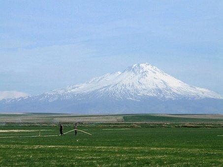 Mountain, Volcano, Hasan Dağı, Mount, Argeiopolis Mons