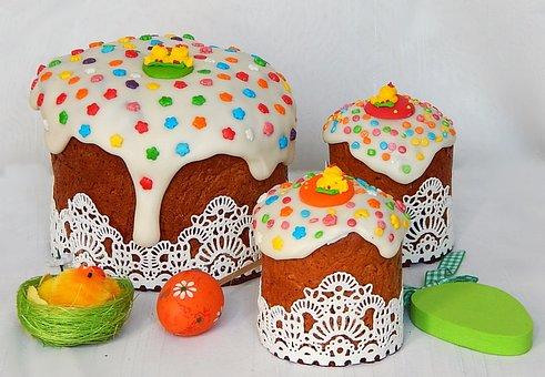 Easter Cake, Easter Baking, Easter, Holiday