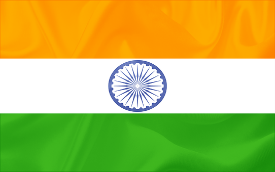 Indian, Flag, Country, National, Freedom, Culture
