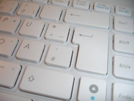 Keyboard, Chiclet Keyboard, Keys, Input Device