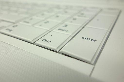 Enter, Keyboard, Notebook, Keys, Computer, Leave, Input