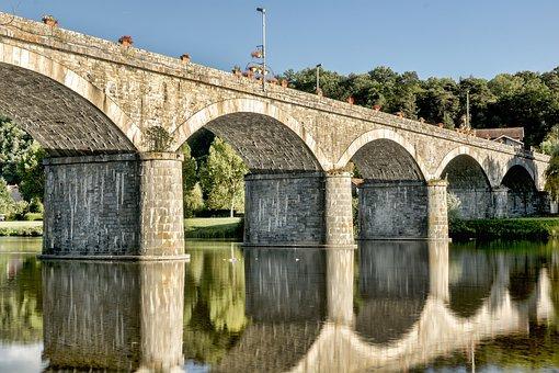 Bridge, France, Auvergne, Retournac, High-loire, Loire