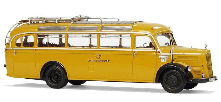 Mercedes Benz, Type O 3500, Deutsche Bundespost