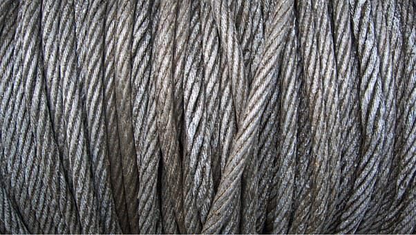 Steel, Wire, Cable, Iron, Rope, Metal, Reel, Winch