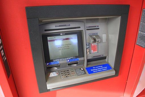 Atm, Money, Credit Cards, Bank, Machine, Terminal
