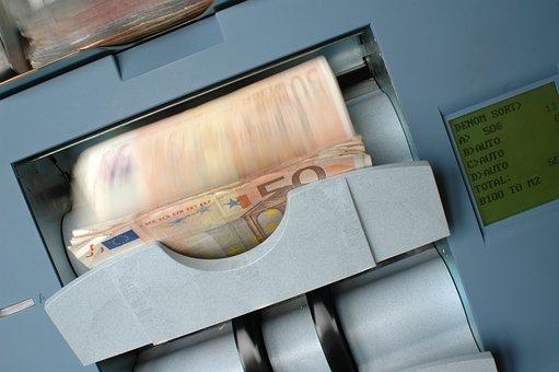 Banque, Tickets, 50, Money, Banknote, Finance, Business