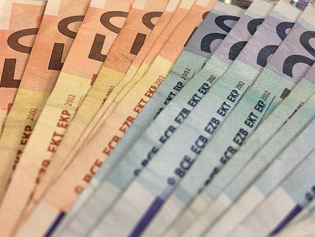 Money, Euro, Seem, Currency, Dollar Bill, Finance