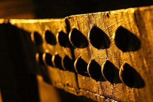 Braunschweig, Night, Autumn, Bridge, Screw, Metal