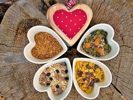 Muesli, Grains, Oatmeal, Cereals, Healthy