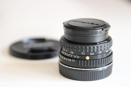 Objective, Photo, Lens, Analog Picture, Vintage, Pentax