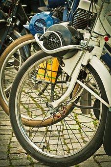 Velosolex, Moped, Vintage, Old, Nostalgia, Retro