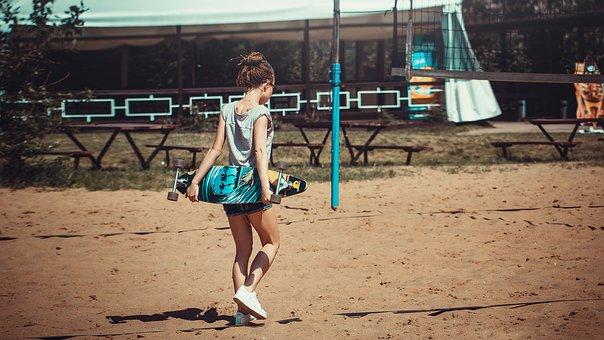 Photoshoot On The Beach, Girl, Dress, Lies, Fashion