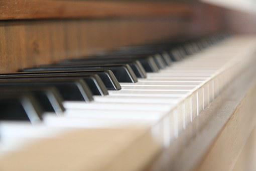 Piano, Button, Instrument, Piano Keyboard, Piano Keys