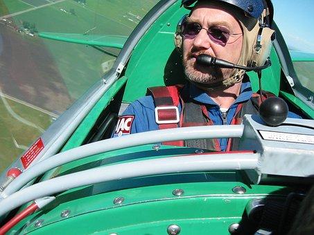 Pilot, Pitts Special, S2b, Aerobatic, Plane, Flight