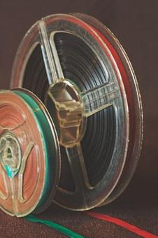 Film, Reel, Movie Reel, Retro, Vintage, Strip, Cinema