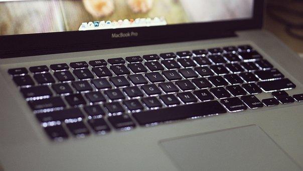 Computer, Laptop, Apple, Computing, Keyboard, Screen