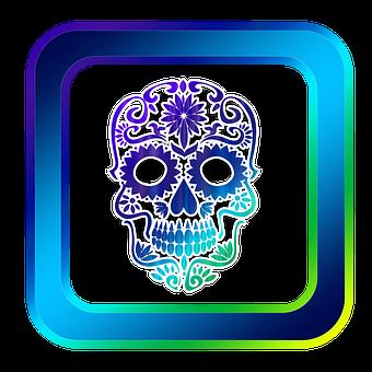 Icon, Skull And Crossbones, Symbols, Online, Internet