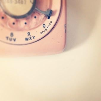 Pink, Telephone, Communication, Phone, Technology