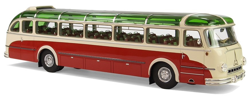 Magirus-deutz, Typ 6500, Coach, Model Buses, Hobby