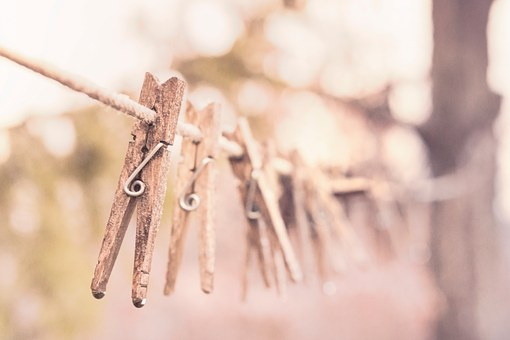 Peg, Clothespin, Clothes-peg, Wooden, Clothes Line