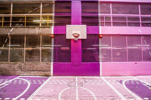 Architecture, Building, Basketball, Court, Sport, Venue