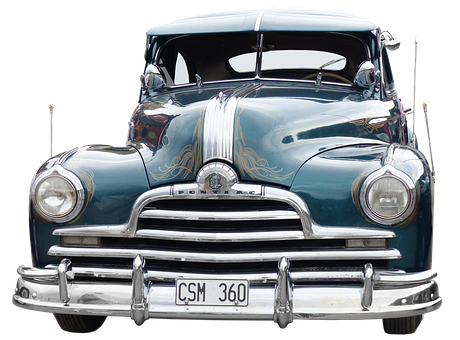 Pontiac, Oldtimer, Classic Car Meeting, Historically