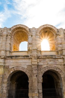The Amphitheatre Of Arles, Colosseum, Arles, Camargue
