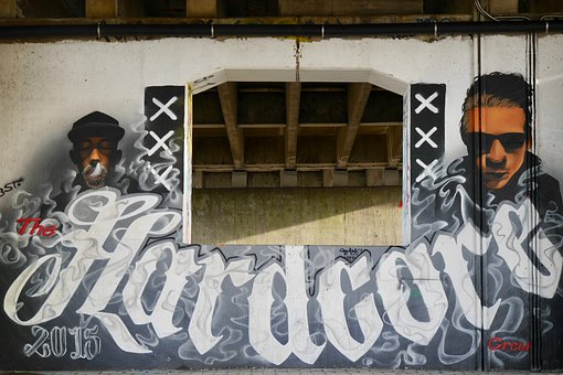 Graffiti, Amsterdam, The Hardcore Crew, 2015, Urban