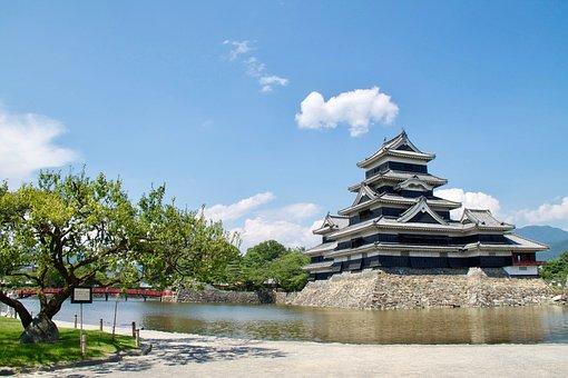 Matsumoto Castle, Matsumoto, Japan, Nagano, Japanese