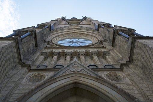 Church, Sky, Religion, Architecture, Old, Landmark