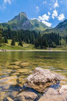 Gantrischseeli, Bergsee, Mountains, Lake, Switzerland