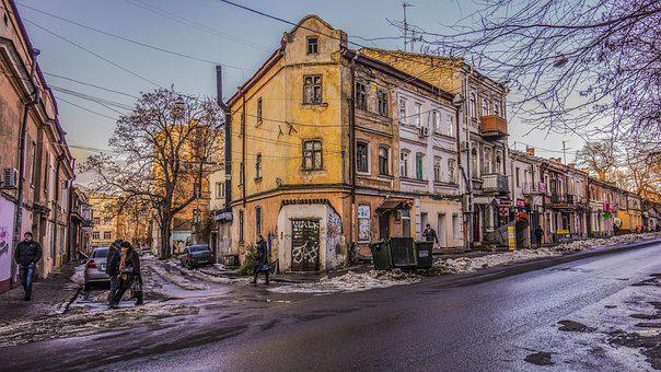 Odessa Crossroads Winter, People, At Home