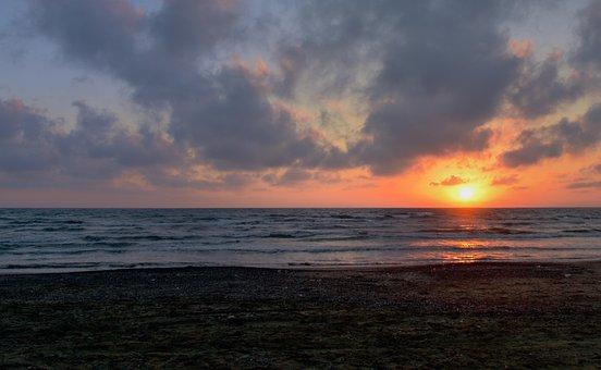 Sunset, Sea, Landscape, Seascape, Travel, Beauty
