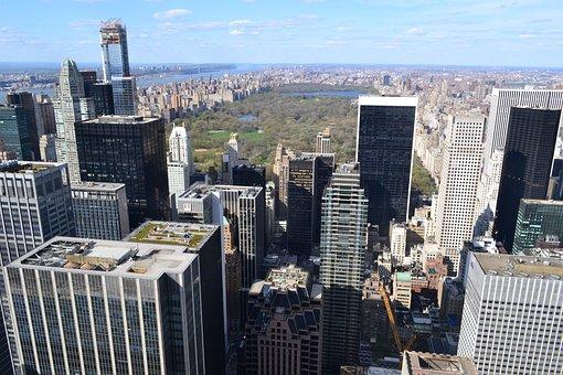 New York, Central Park, Manhattan, Skyscraper, Building