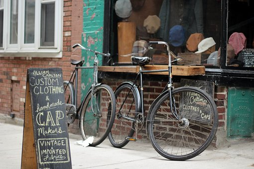 Bike, Bicycle, Board, Chalk, Hats, Street