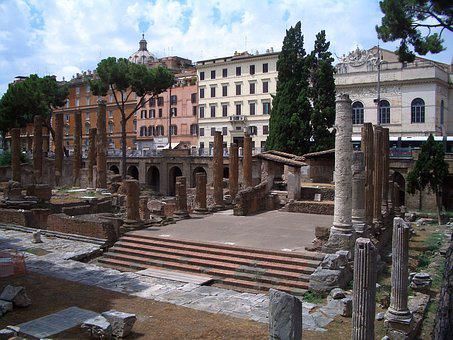 Rome, Italy, Columnar, Romans, Architecture