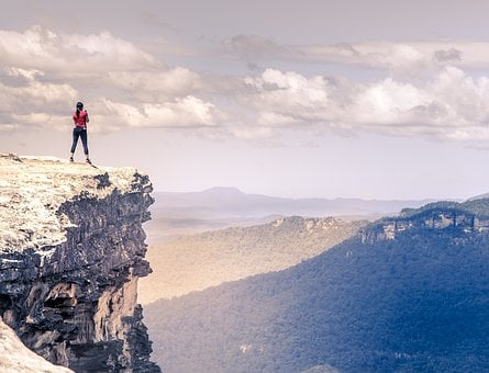 People, Woman, Girl, Hiking, Climbing, Travel, Outdoor