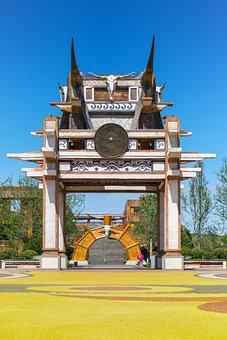 China, Guizhou, Guiyang, Tianhe Pond, Sun Plaza